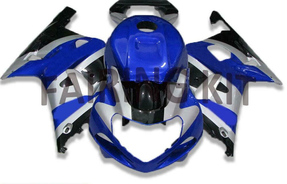 FSM Fit for Suzuki 2001-2003 GSXR600/750 Molded New Injection Fairing Blue a041
