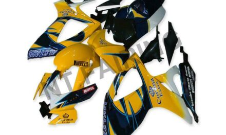 GL Injection Yellow Plastic Fairing Fit for Suzuki 2006 2007 GSXR 600 750 a027