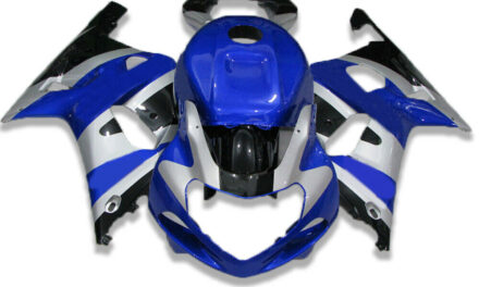 SC Fit for Suzuki 2001-2003 GSXR600/750 Molded Injection Fairing Blue a041