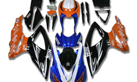 CC Injection Molding Plastic Fairings Fit for GSXR 600 750 SUZUKI 2008-2010 a076