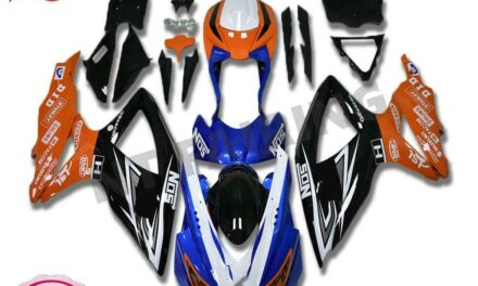 Fit for GSXR 600 750 SUZUKI 2008-2010 Injection Molding Plastic Fairings a076
