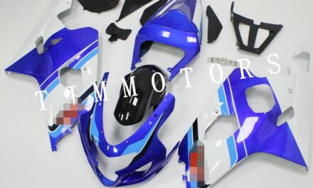 For GSXR600/750 04-05 Blue Anniversary ABS Injection Mold Bodywork Fairing Kit