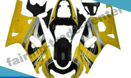 FTC Yellow Injection Model Fairing Fit for Suzuki 2001-2003 GSXR 600/750 v077