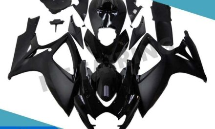 FTC Injection Mold Black Fairing Kit Fit for Suzuki 2006 2007 GSXR 600 750 v004