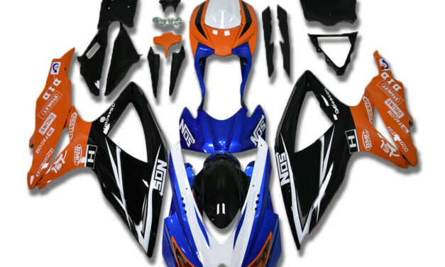 DS Injection Molding Plastic Fairings Fit for GSXR 600 750 SUZUKI 2008-2010 a076