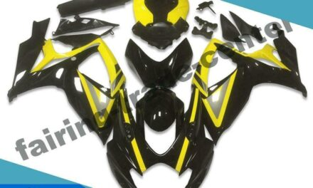 FTC Injection Mold Black Fairing Fit for Suzuki 2006 2007 GSXR 600 750 v038