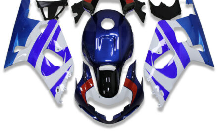 FTC Blue ABS Plastic Injection Fairing Fit for Suzuki 2001-2003 GSXR600/750 n056
