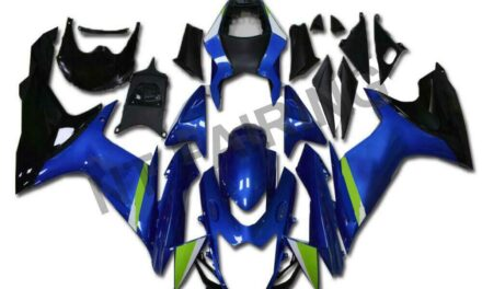DS Fairing Fit for SUZUKI 2011-2020 GSXR 600/750 Injection Blue Plastic a041