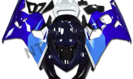 DS Blue Black Injection Fairing Kits Fit for Suzuki 2004-2005 GSXR 600 750 o024