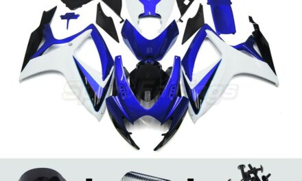 ABS Plastic Fairing Kit for Suzuki GSXR600 750 2006 2007 Injection Body Covers