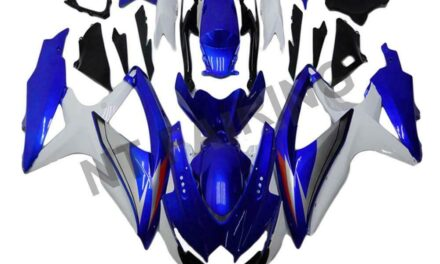 DS Injection Mold Blue White Fairing Fit for Suzuki 2008-10 GSXR 600 750 o066a