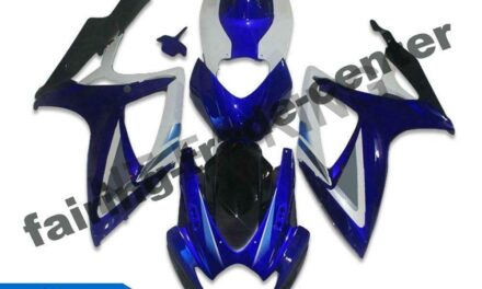 DS Injection Blue Plastic Fairing Fit for Suzuki 2006 2007 GSXR 600 750 a041