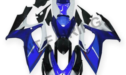 DS Injection Mold Blue Fairing Kit Fit for Suzuki 2006 2007 GSXR 600 750 a013