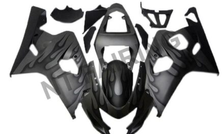 DS Injection Mold Black Fairing Fit for Suzuki 2004 2005 GSXR 600 750 o015