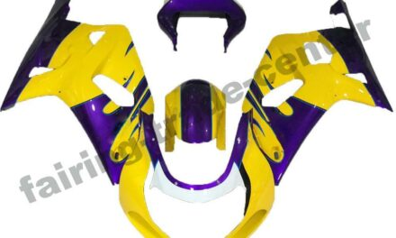 FTC Injection Mold Yellow Fairing Fit for Suzuki 2001-2003 GSXR 600 750 p009