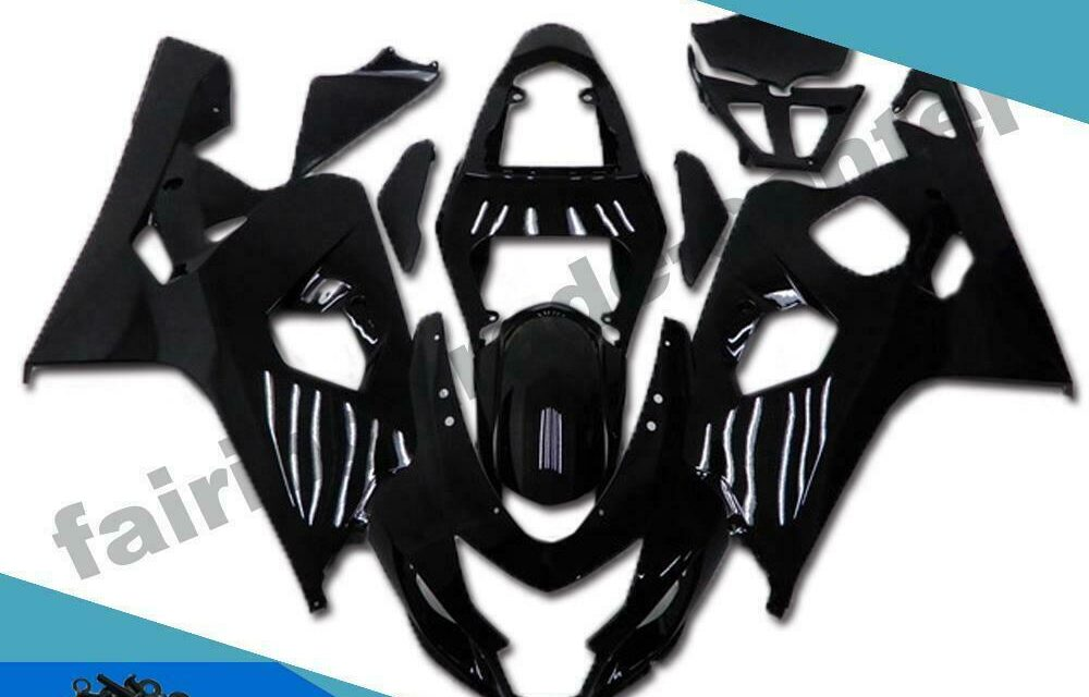 FTC Injection Glossy Black Fairing Fit for Suzuki 2004 2005 GSXR 600 750 p009