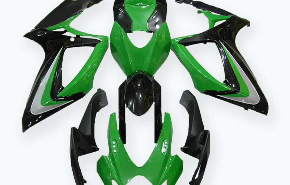 DS Injection Mold Green ABS Fairing Fit for Suzuki 2006 2007 GSXR 600 750 a015