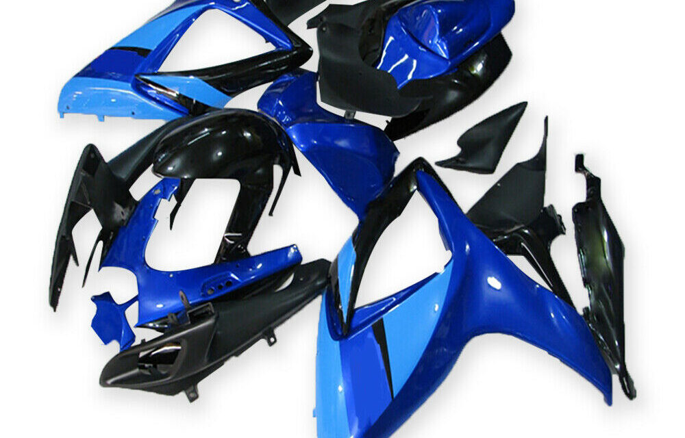 DS Injection Blue Plastic ABS Fairing Fit for Suzuki 2006 07 GSXR 600 750 a045