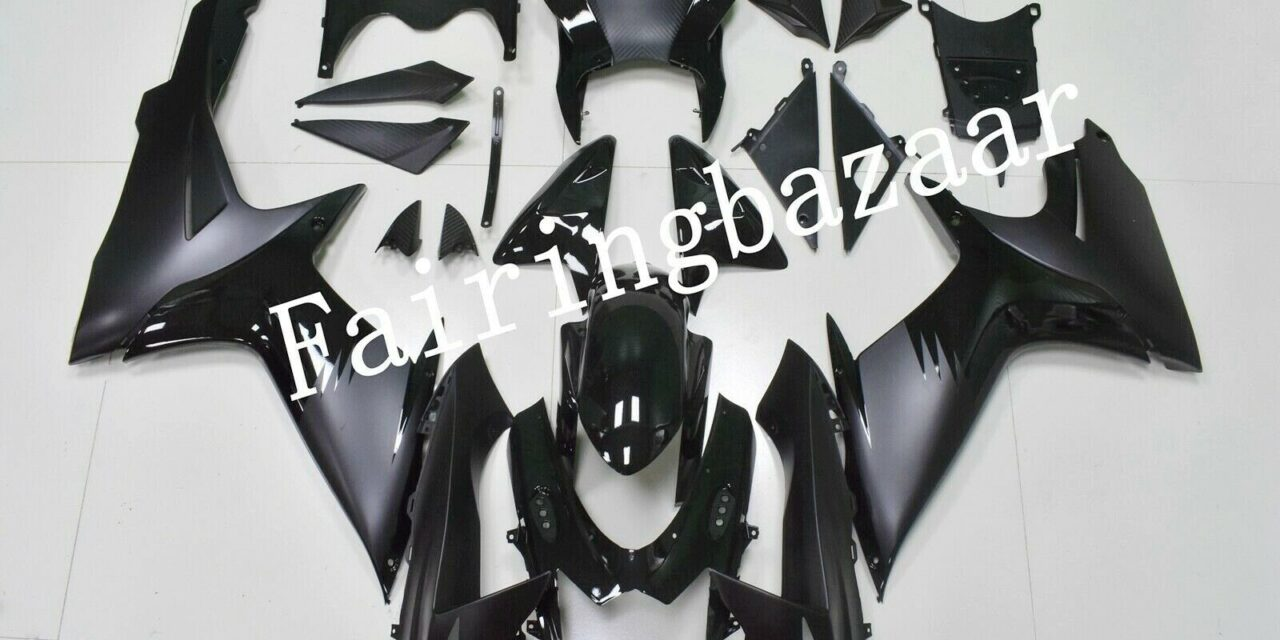 Fit for 2011-19 GSXR600 GSXR750 Gloss Matte Black ABS Injection Mold Fairing Kit