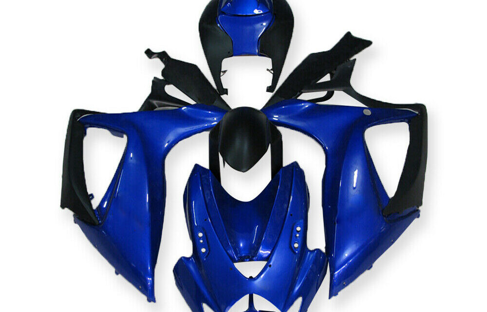 DS Injection Blue Plastic Fairing Fit for Suzuki 2006 2007 GSXR 600 750 a021