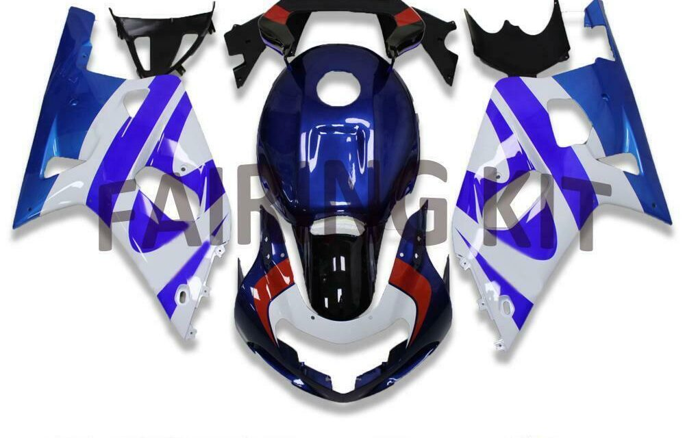 FK Blue ABS Molded Injection Fairing Fit for Suzuki 2001-2003 GSXR 600/750 x056