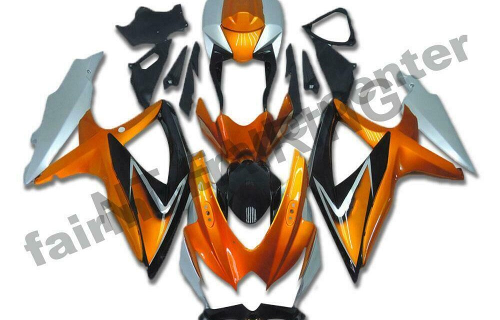DS Injection Fairing New Mold Fit for Suzuki 2008-2010 GSXR600/750R a065