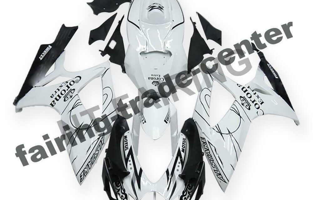 DS Injection White ABS Plastic Fairing Fit for Suzuki 2006-07 GSXR 600 750 a014