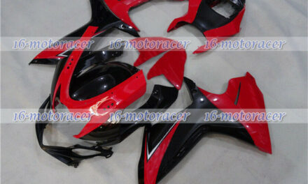 Fairing Fit for 2011-2018 GSX-R 600 750 K11 Red Black Injection Plastic Kit a#36