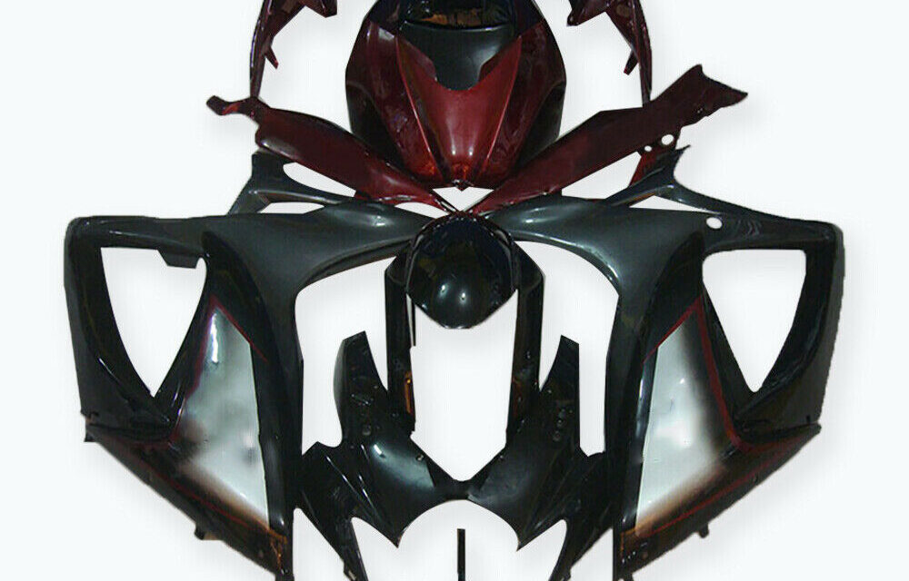 DS Injection Slive Red ABS Fairing Fit for Suzuki 2006 2007 GSXR 600 750 a025