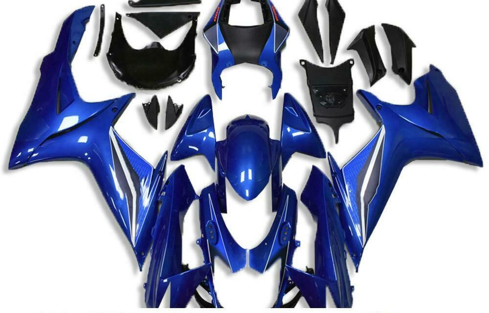 NT Fairing ABS Plastic Injection Blue Fit for SUZUKI 2011-2020 GSXR 600/750 a035
