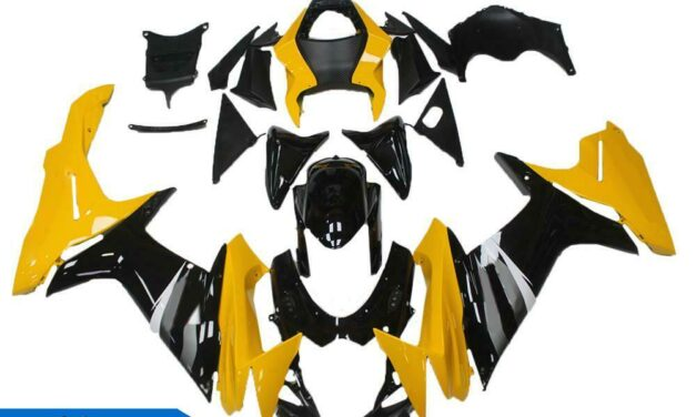 DS Injection Yellow Black Fairing Fit for Suzuki 2011-2020 GSXR 600/750 a064