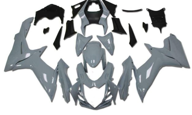 FSM Fairing ABS Injection Gray Kit Fit for SUZUKI 2011-2020 GSXR 600/750 a0Gray