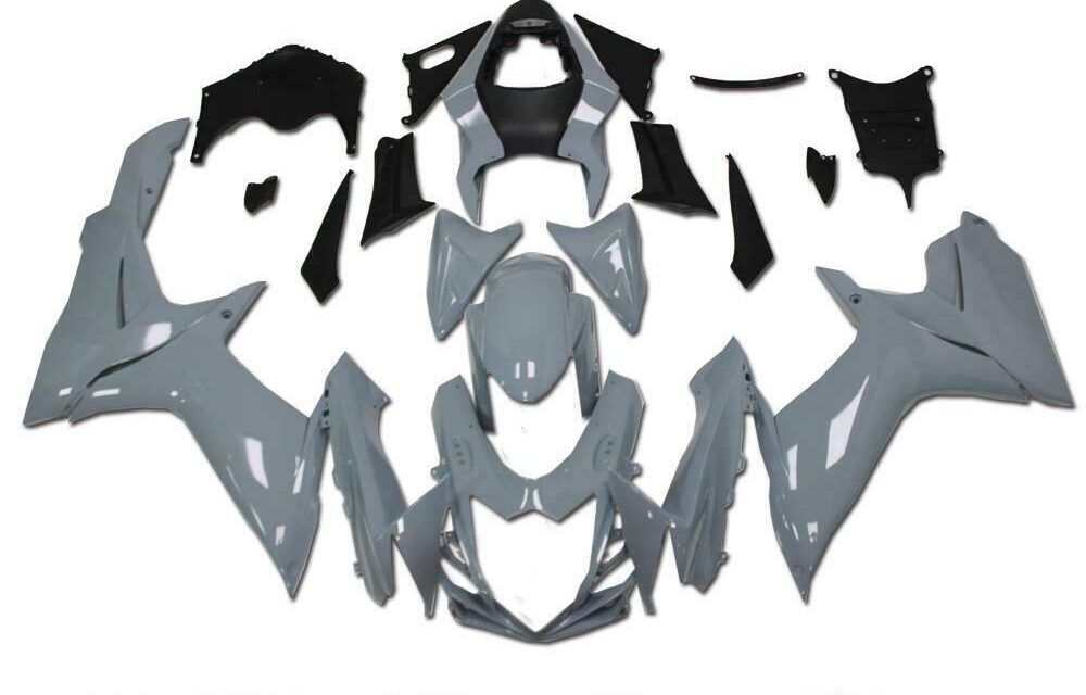 FK Fairing ABS Injection Gray Kit Fit for SUZUKI 2011-2020 GSXR 600/750 a0Gray