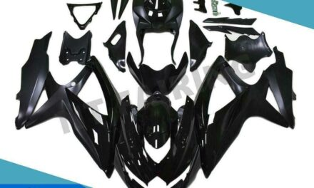 FTC Injection Glossy Black Fairing Fit for Suzuki 2008-2010 GSXR 600 750 o032