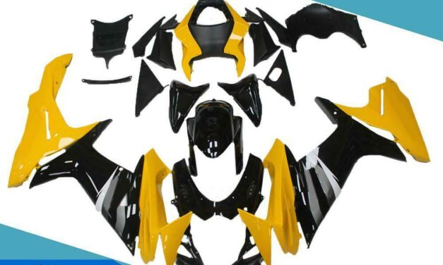 FTC Injection Yellow Black Fairing Fit for Suzuki 2011-2020 GSXR 600/750 a064