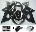 Fairing Injection Plastic Package Shiny Black Suitable For Suzuki GSXR600/750 2001-03 SE