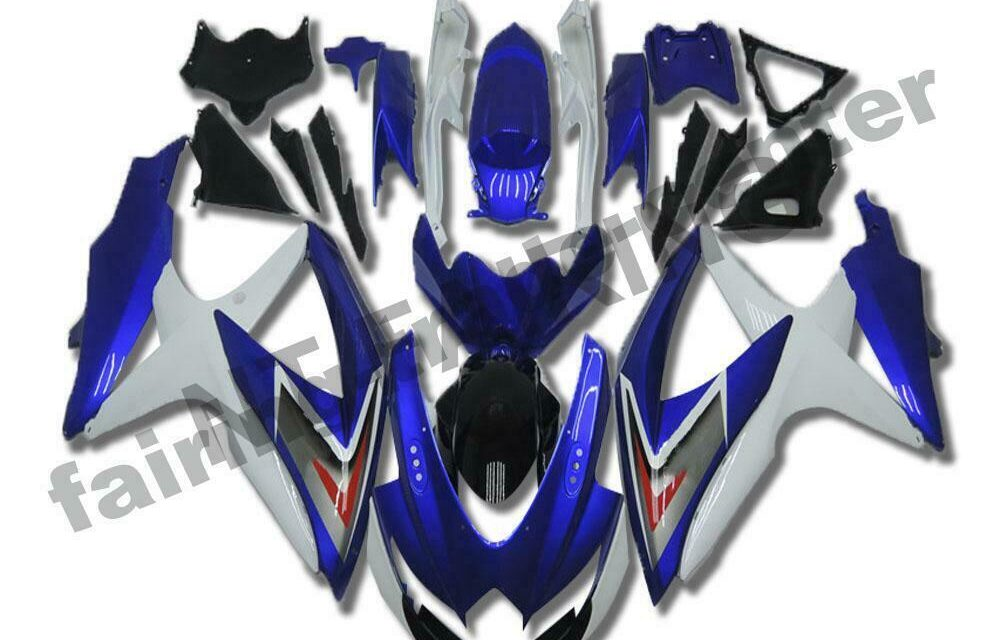 DS Injection New Fairing Fit for Suzuki 2008-2010 GSXR600/750R a062