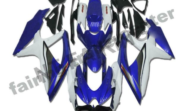 DS Injection New Fairing Cowl Fit for Suzuki 2008-2010 GSXR600/750R a009