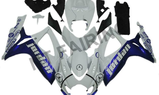 DS Injection Mold Blue Fairing Kit Fit for Suzuki 2006 2007 GSXR 600 750 a043