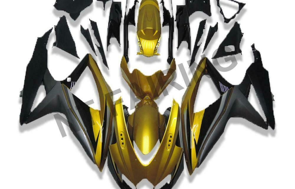 DS Injection Fairing Cowl Fit for Suzuki 2008-2010 GSXR600/750R a061