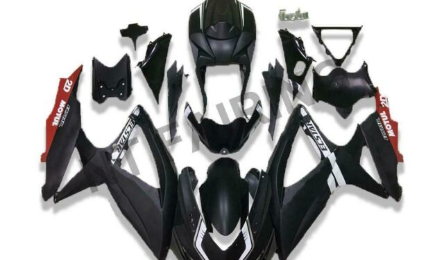 DS New Injection Fairing Fit for Suzuki 2008-2010 GSXR600/750R a070