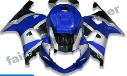 FTC Blue Sliver ABS Injection Fairing Suitable For Suzuki 2001-2003 GSXR 600/750 n041