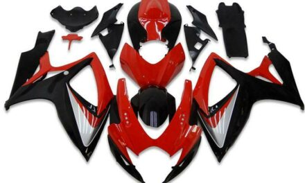 CC Injection Red Black Fairing Kit Fit for Suzuki 2006 2007 GSXR 600 750 a003