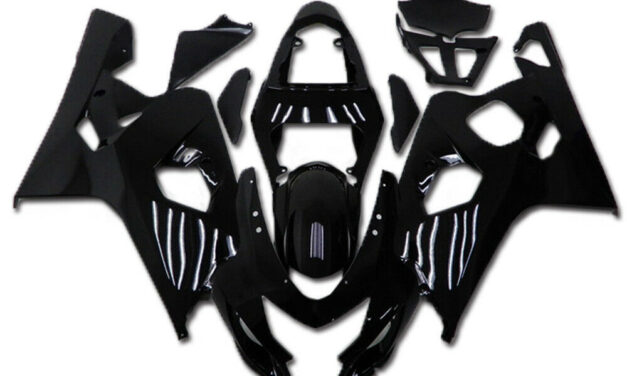 SC Injection ABS Black Fairing Package Suitable For Suzuki 2004 2005 GSXR 600 750 a007