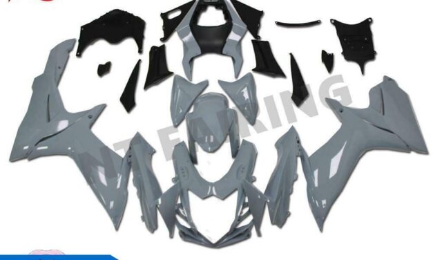 GL Gray Fairing Fit for SUZUKI 2011-2020 GSXR 600/750 Injection Mold ABS a0GY