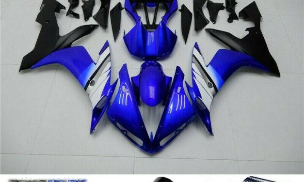 Blue Black Injection ABS Plastic Fairing Fit for Yamaha 2004-2006 YZF R1 H2
