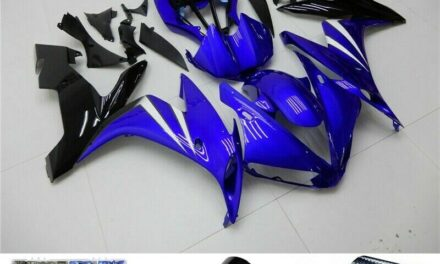 ABS Gloss Blue Injection Plastic Kit Fairing Fit For Yamaha YZF R1 2004-2006 H2