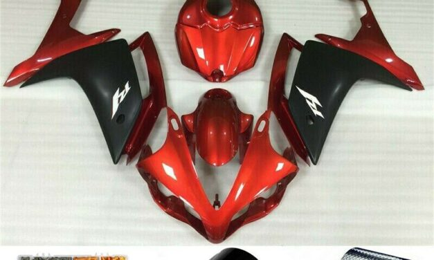 Orange ABS Injection Plastic Kit Fairing Fit for Yamaha YZF R1 2007-2008 H2