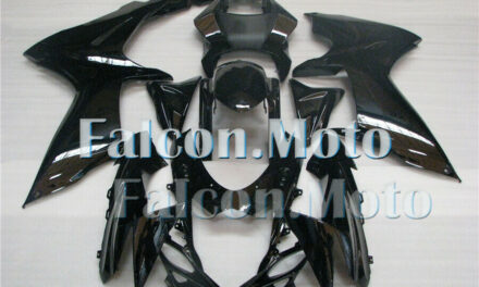 Gloss Black ABS Injection Plastic Fairing Fit for GSXR 600 750 K11 2011-2019 aBL