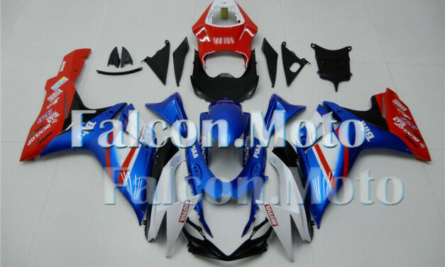 Blue White Red Injection Body Kit Fairing Fit for 2011-2019 GSXR 600 750 K11 ABS